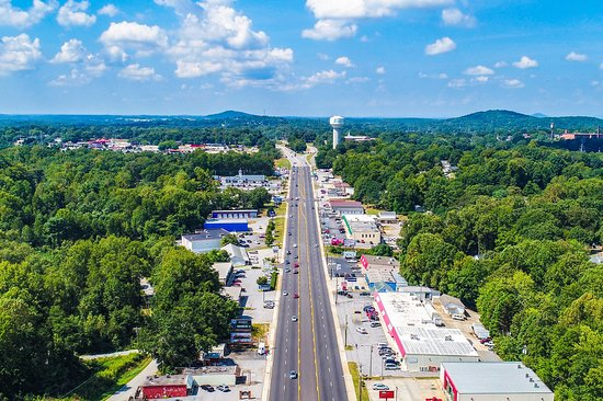 Family Lawyer Easley SC - Easley Aerial